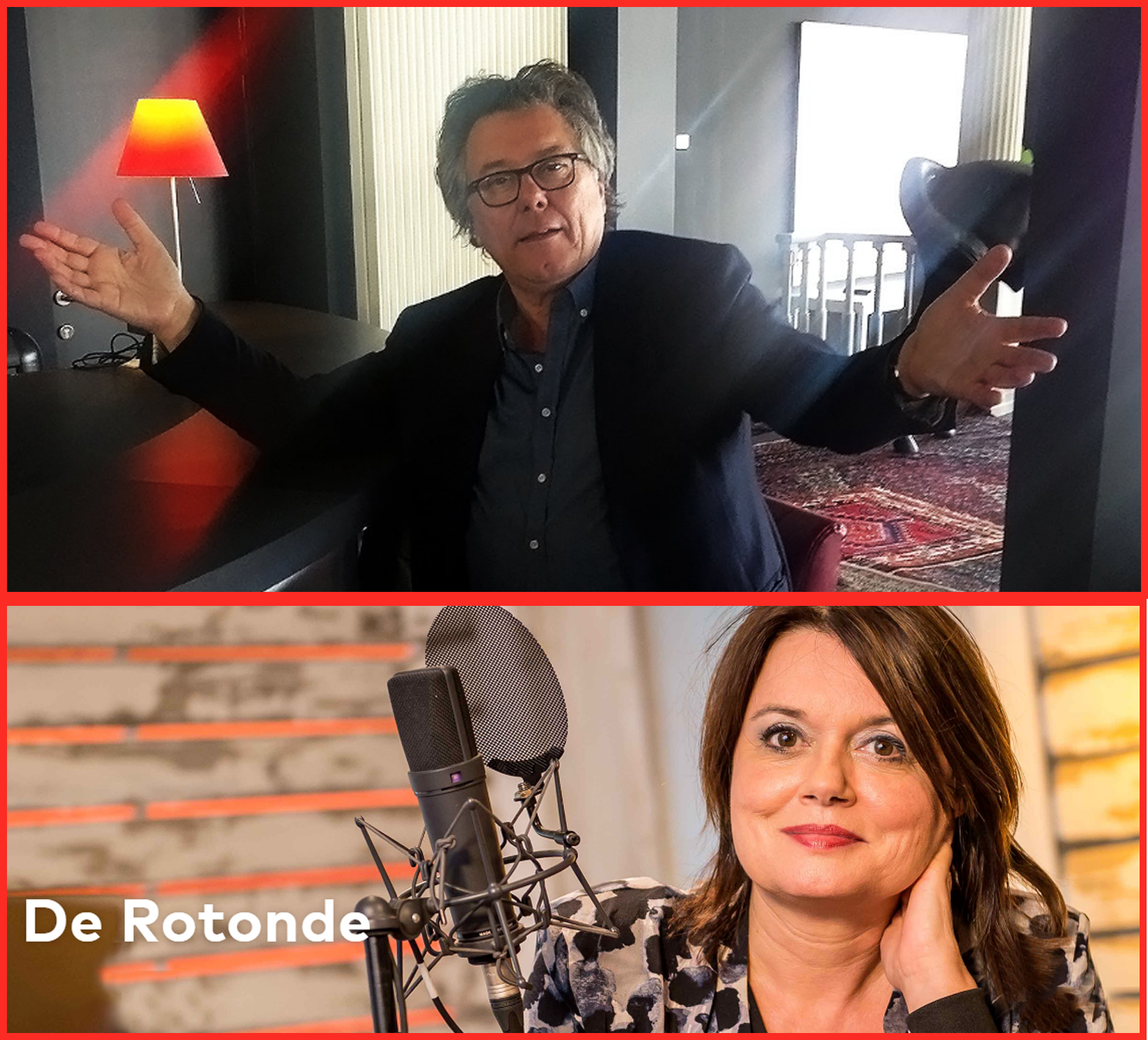 Johan op Radio 2 in 'De Rotonde' op 30 april 2017